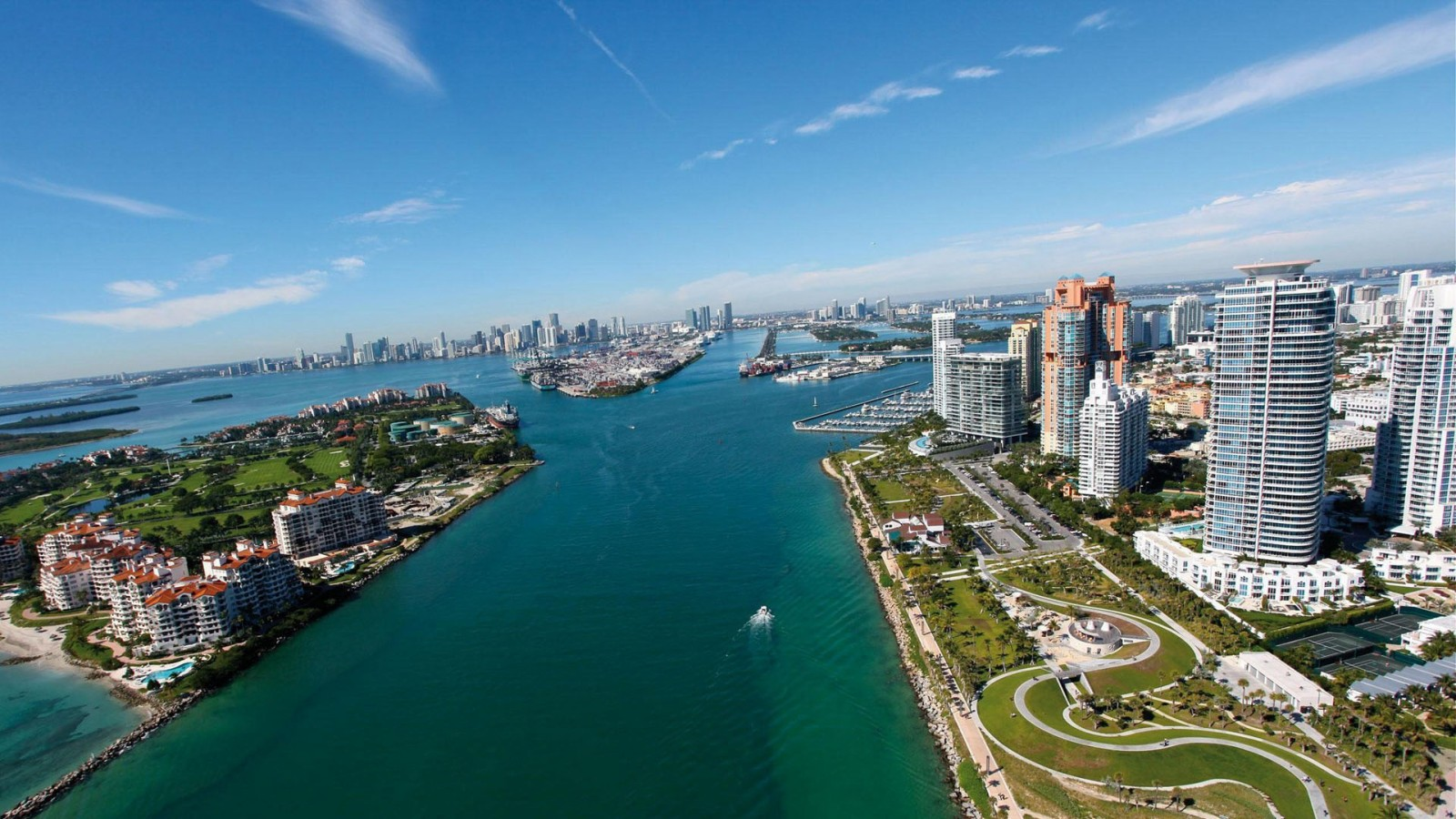 Miami Beach Florida City HD Wallpaper of City   hdwallpaper2013com 1600x900