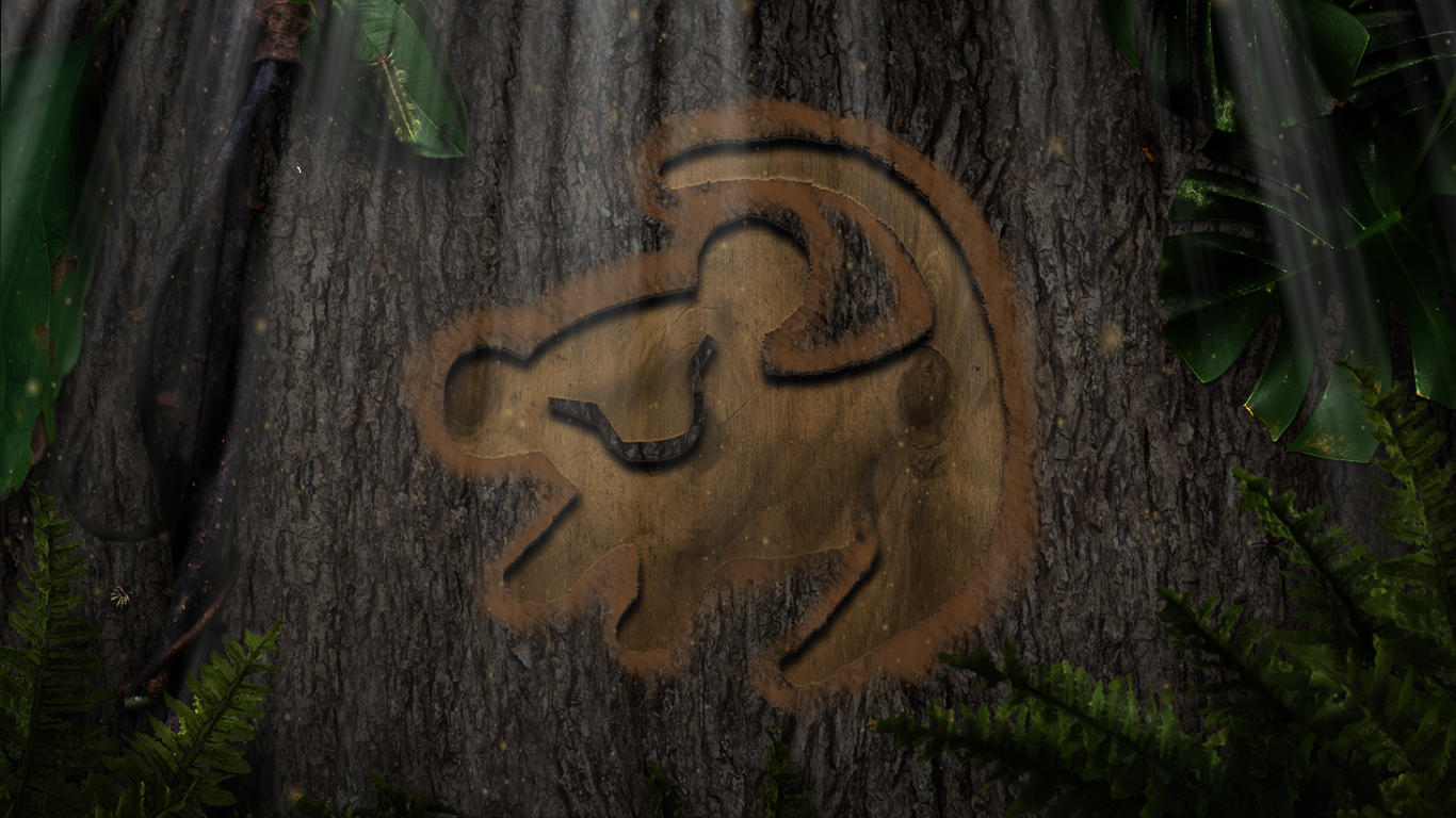 Simba wallpaper wallpapersafari - Lion king wallpaper ...