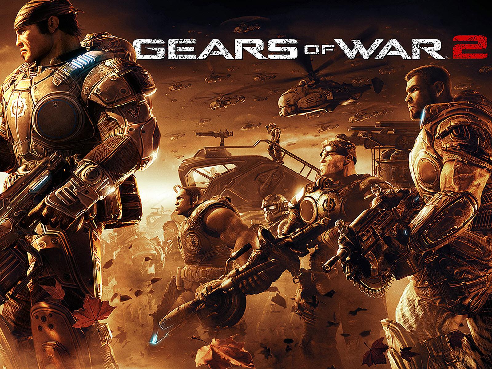 66 Gears Of War Hd Wallpaper On Wallpapersafari