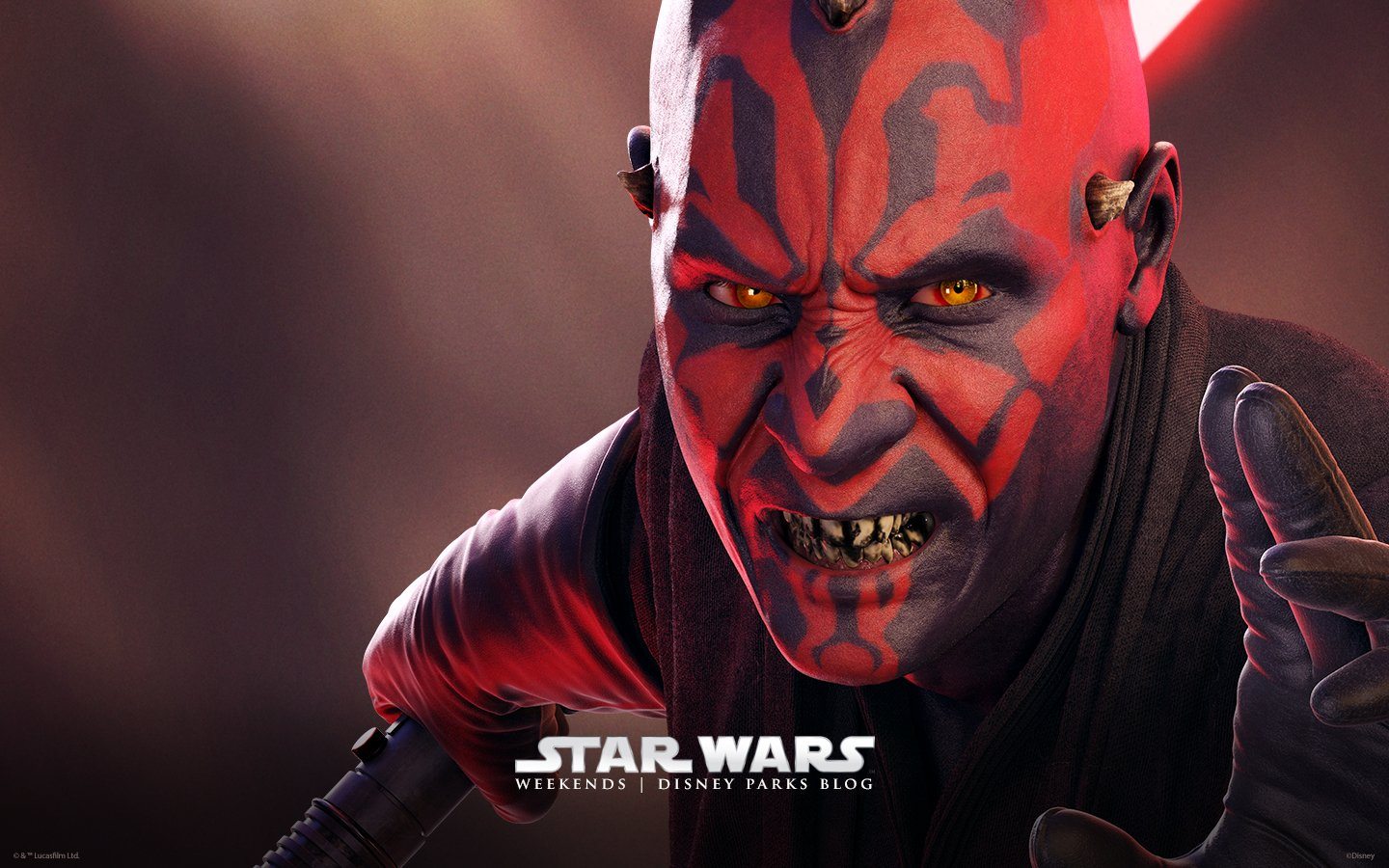 Star Wars Weekends Darth Maul 1440x900