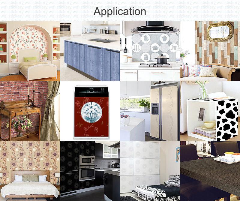 Adhesive Wallpaper FOR Kitchen Backsplash Washable Wall Decor eBay 800x670