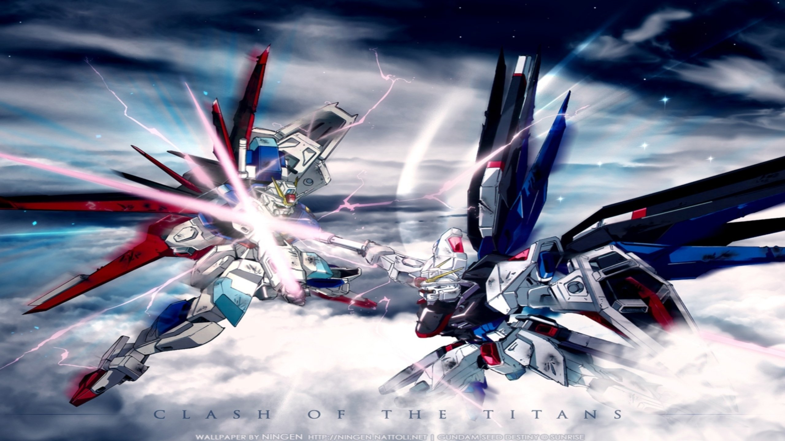 Gundam Seed wallpaper 238463 2560x1440