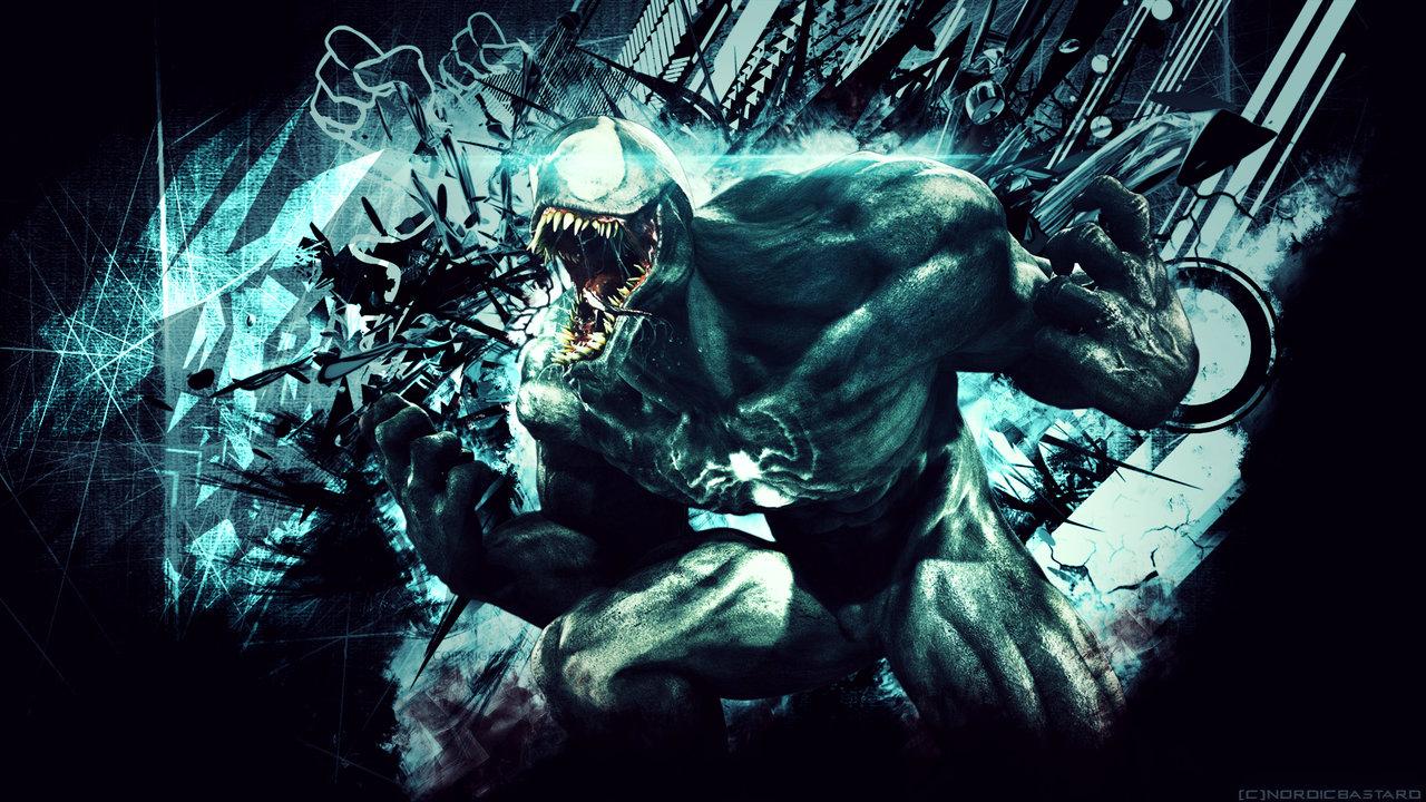 marvel venom wallpaper 4k by nordicbastard watch fan art wallpaper 1280x720