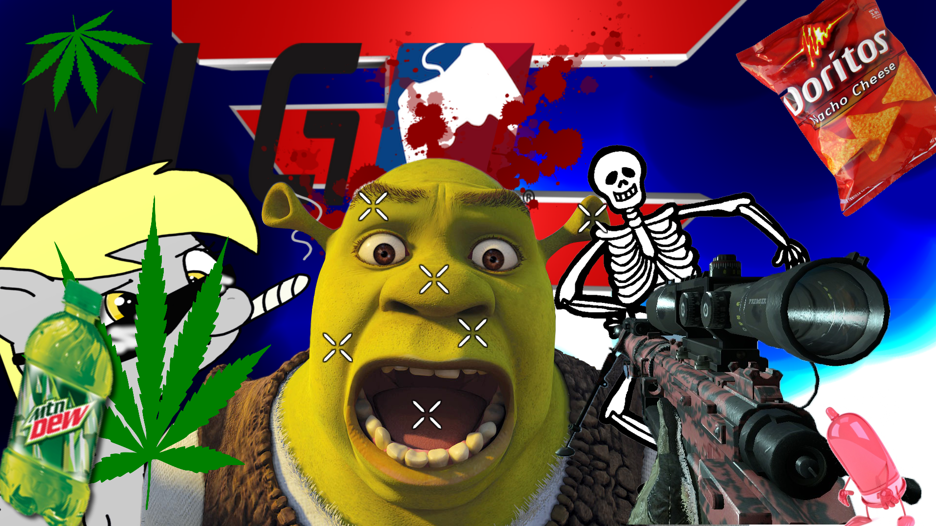mlg 1920 x 1080 wallpaper by blueaseer watch customization wallpaper 1920x1080