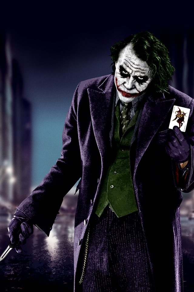awesome the joker wallpaper wallpapers55com   Best Wallpapers for 640x960