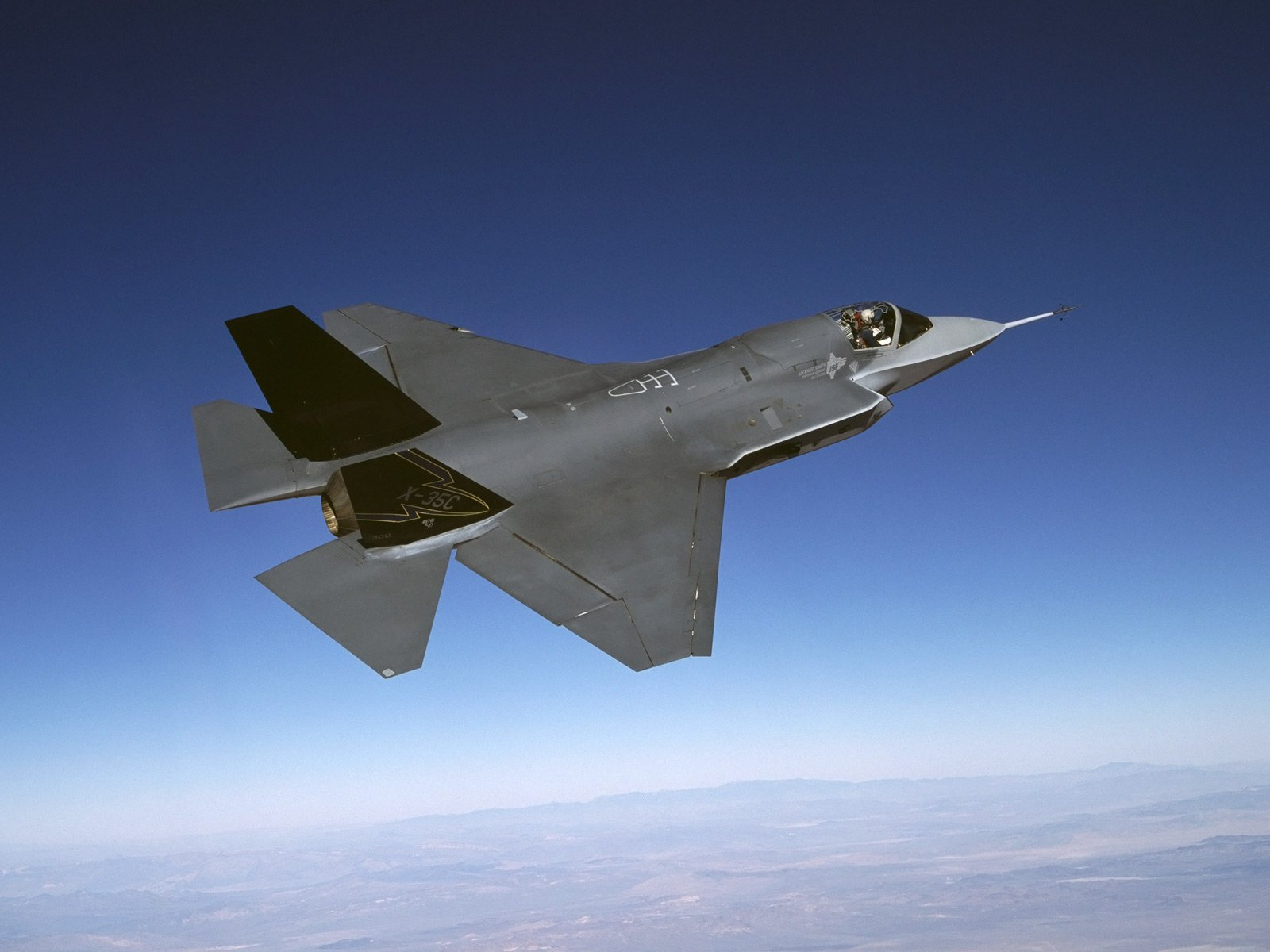 Lockheed Martin F 35 Lightning II Computer Wallpapers Desktop 1600x1200