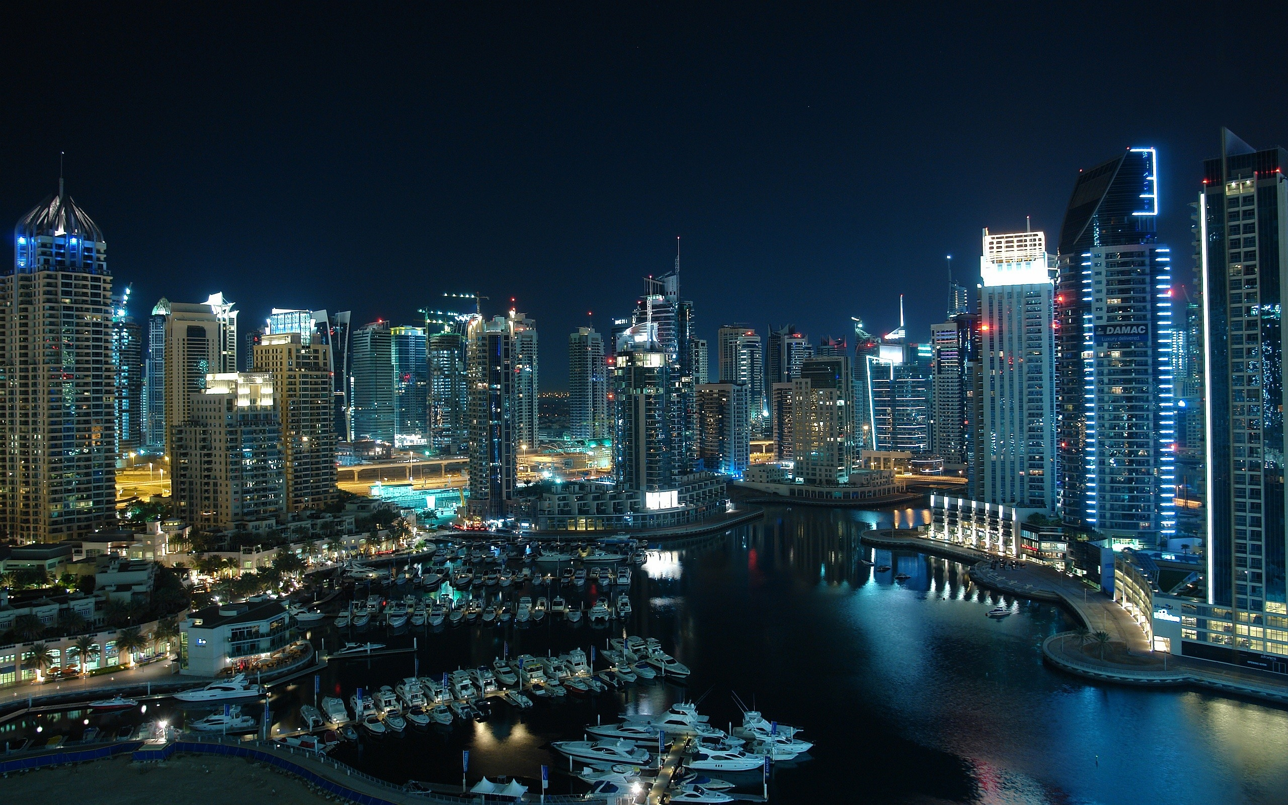 City Dubai Wallpapers 2560x1600 3785 Wallpaper Cool Walldiskpaper 2560x1600