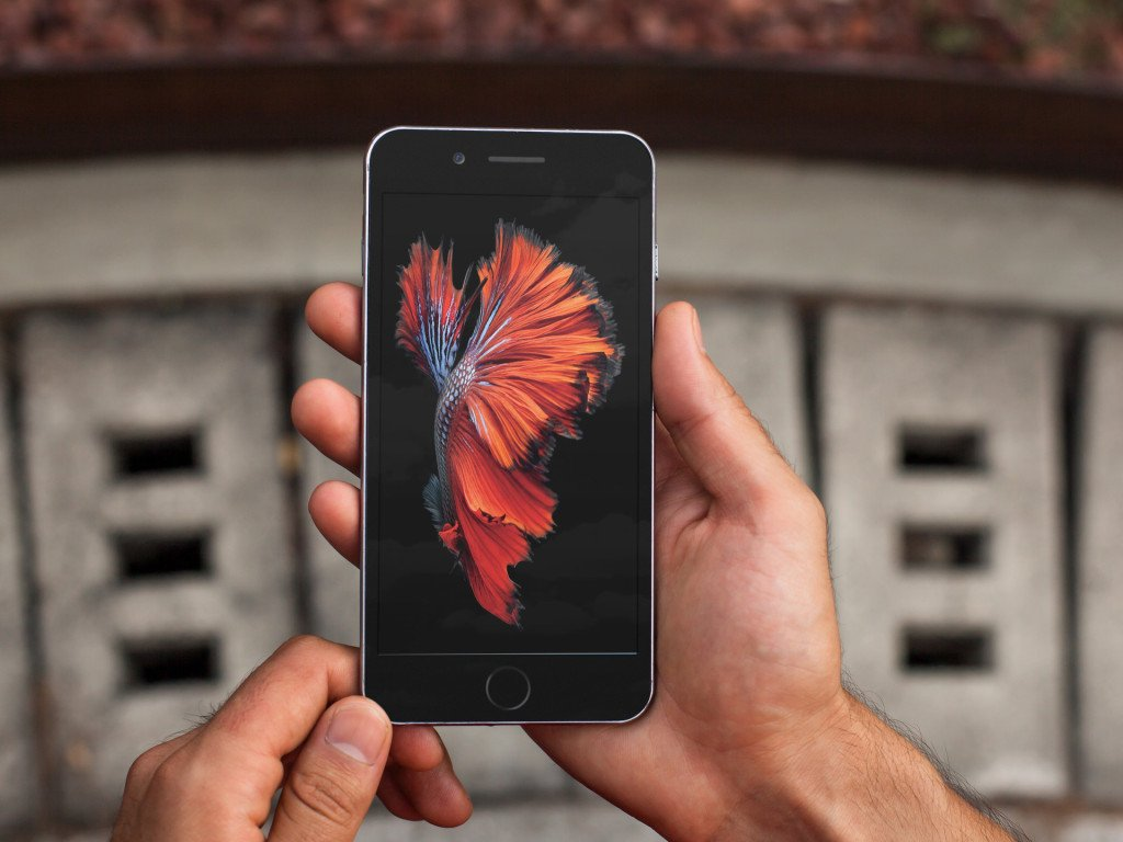 iPhone 6s Motion Wallpapers splash 1024x768