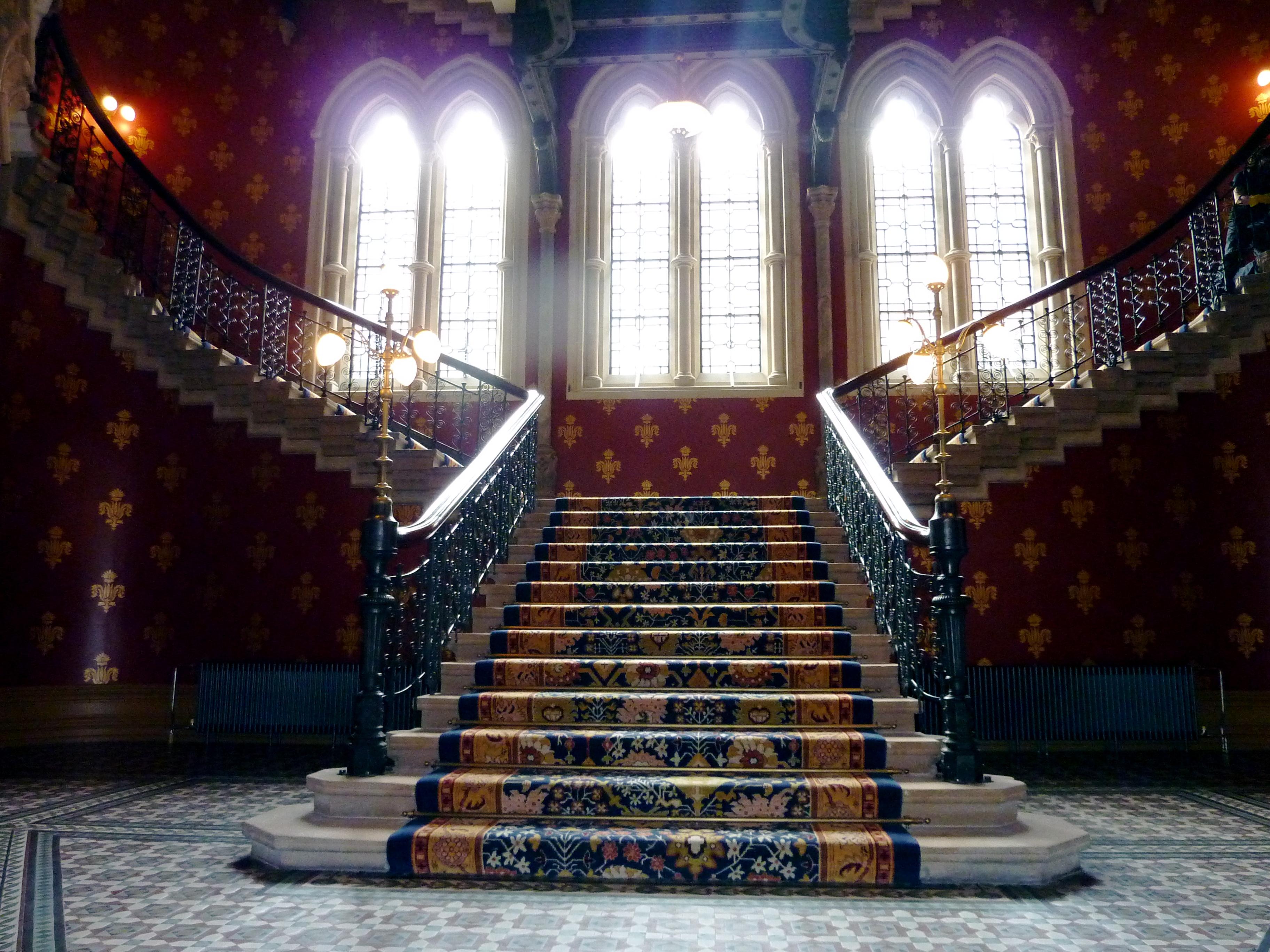 Stairway Wallpaper Wallpapersafari
