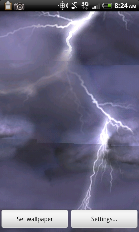 thunderstorm live wallpaper and 0 99 this weeks live wallpaper 480x800