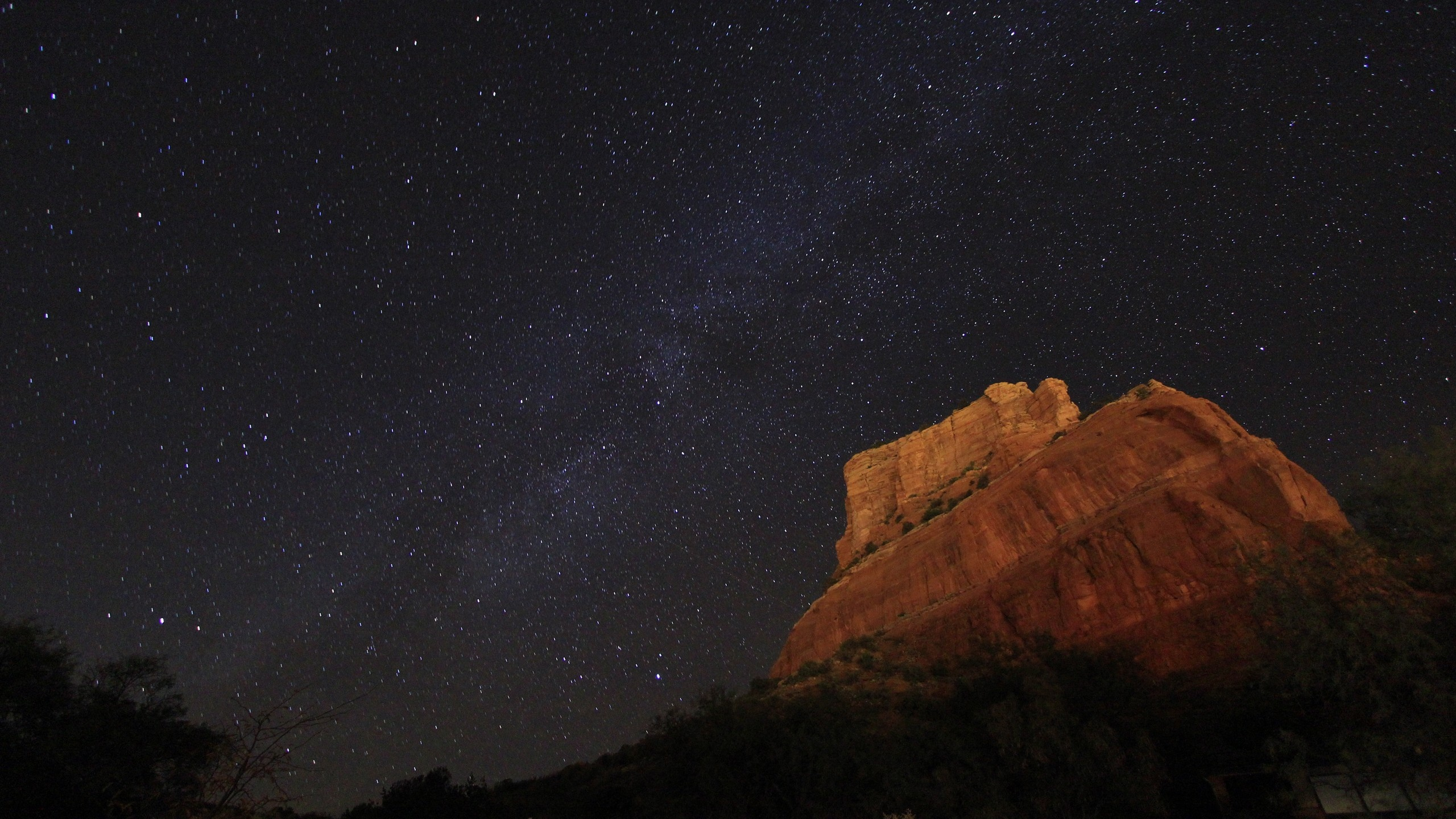 2560x1440 Arizona Night Sky desktop PC and Mac wallpaper 2560x1440