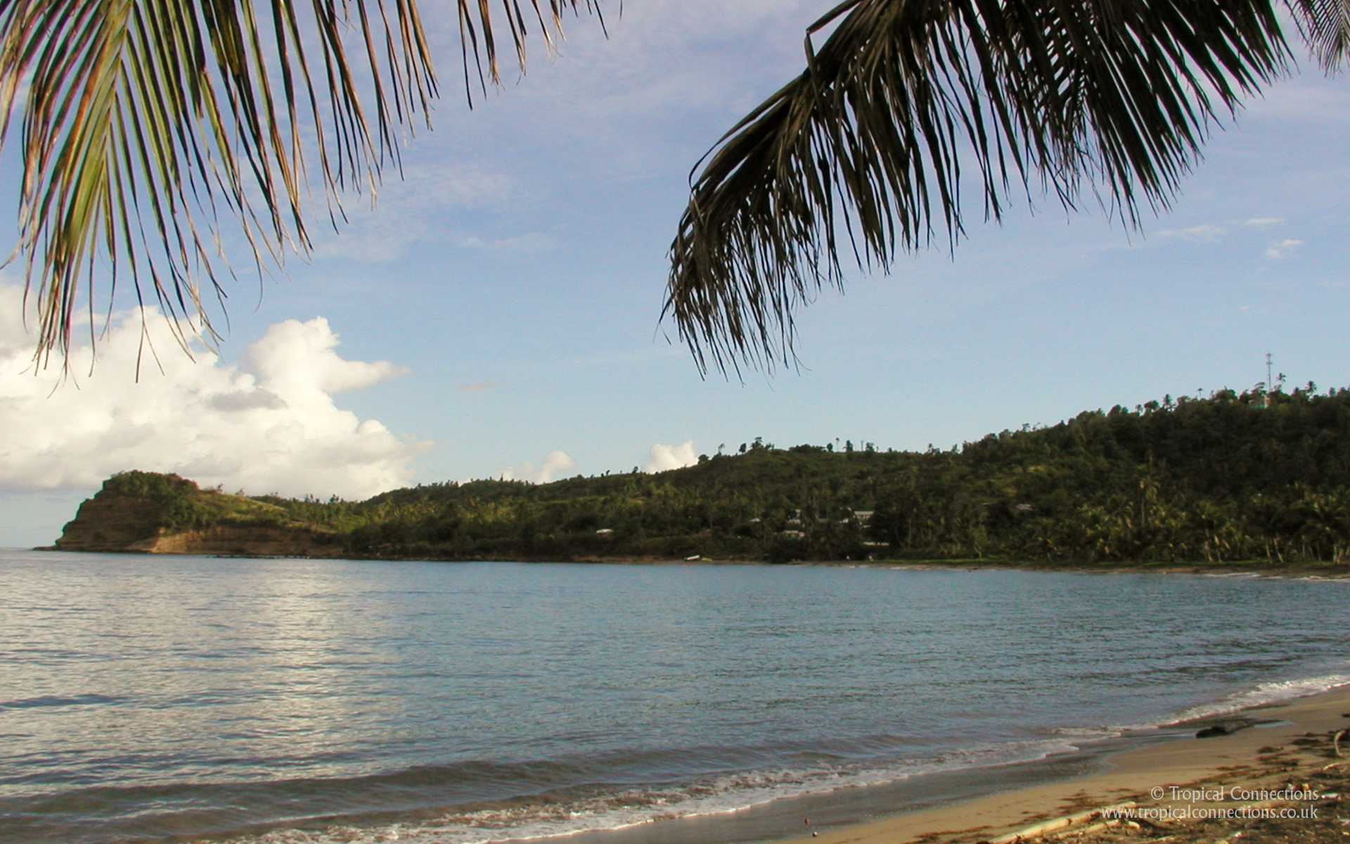 19201200 pixel widescreen wallpaper of a Grenada Beach Click 1920x1200