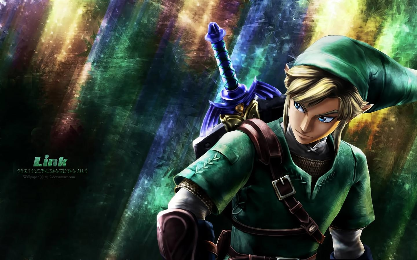 Games Wallpapers   Link   Legend Of Zelda wallpaper 1440x900