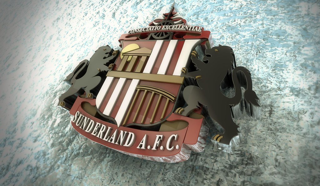 Safc 3D badge HD Wallpaper Sunderland SAFC 3D HD Wallpaper Flickr 1024x594