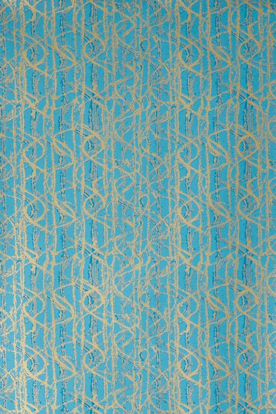 Turquoise And Gold Wallpaper Wallpapersafari