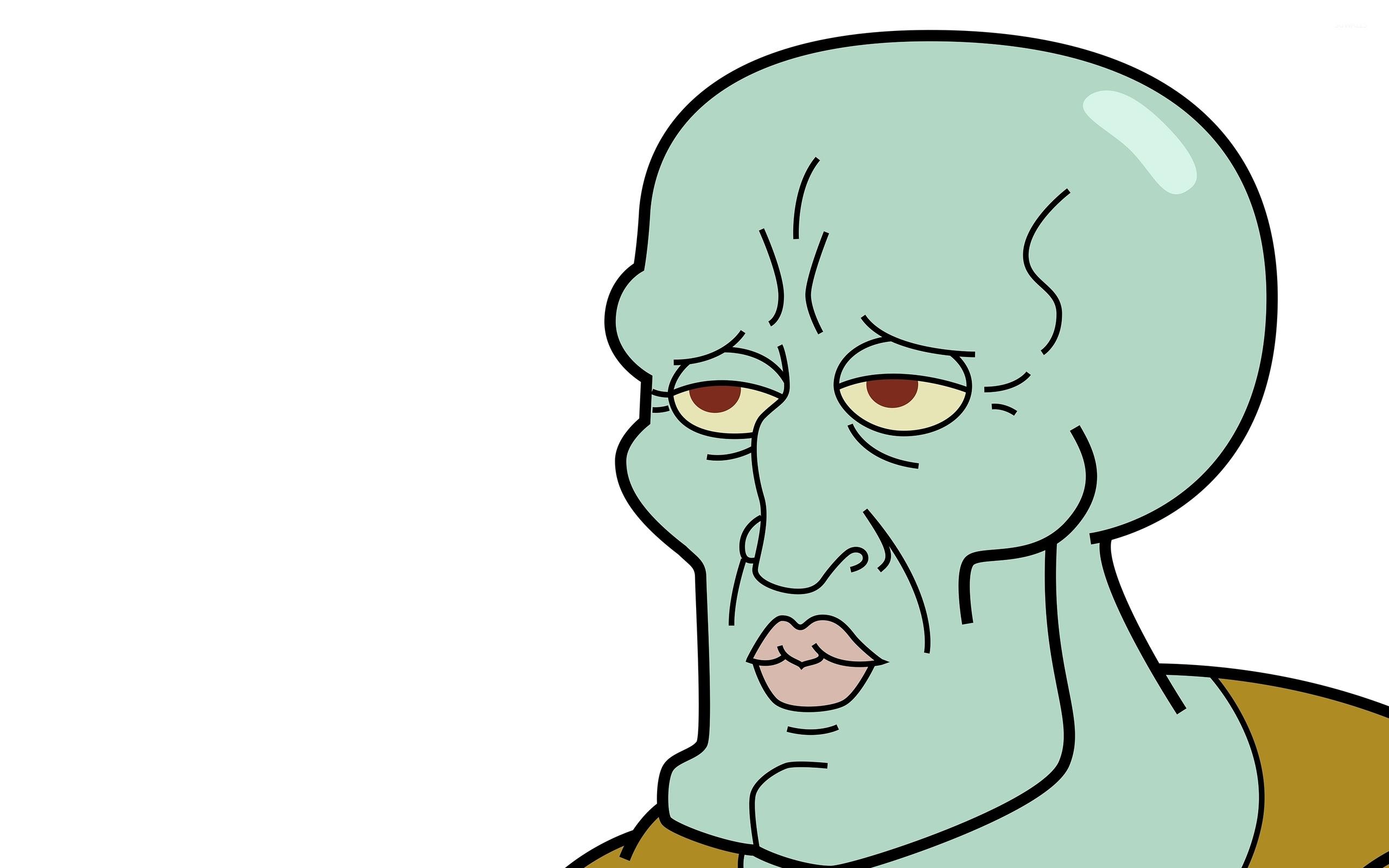 Handsome Squidward wallpaper   Meme wallpapers   42402 2560x1600