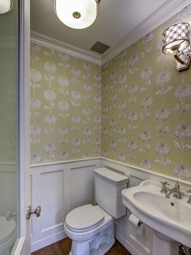 DP Ben Herzog green traditional bathroom wallpaper v lgjpg 616x821