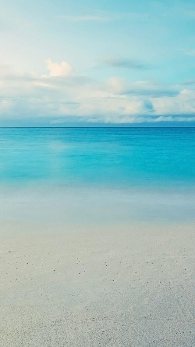 Ocean skyline iPhone 5s Wallpaper Download iPhone Wallpapers iPad 640x1136