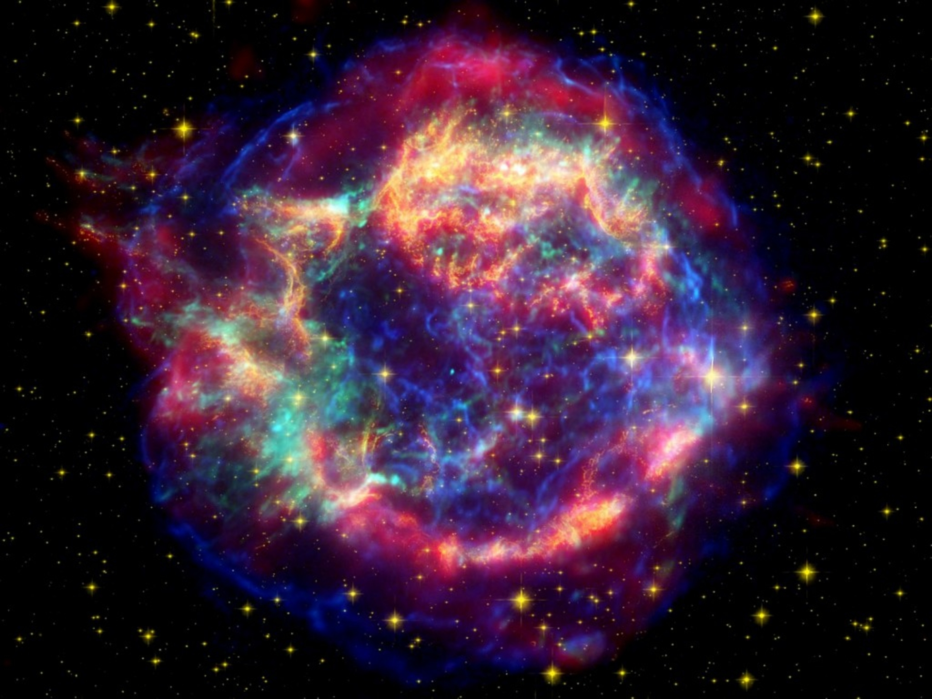 Supernova Explosion Wallpaper 1920x1440