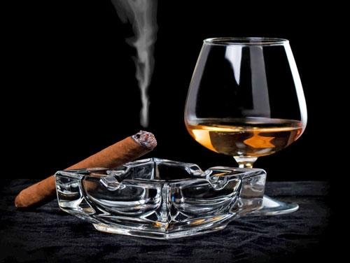Pin Brandy And Cigar Hd Desktop Wallpaper Fullscreen 500x376