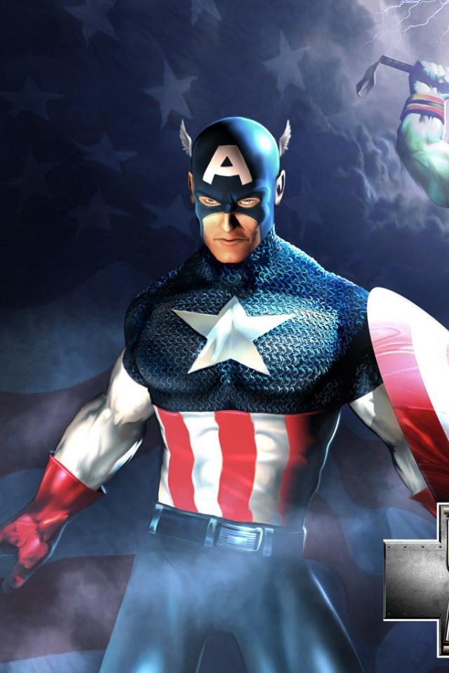 Captain America Wallpaper Comic Book