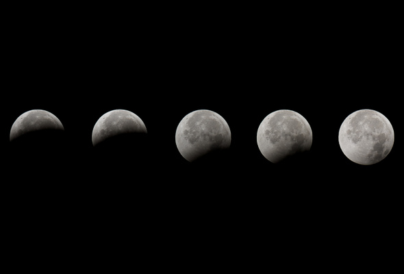 Wallpaper space moon night lunar eclipse eclipse moon phases 590x400
