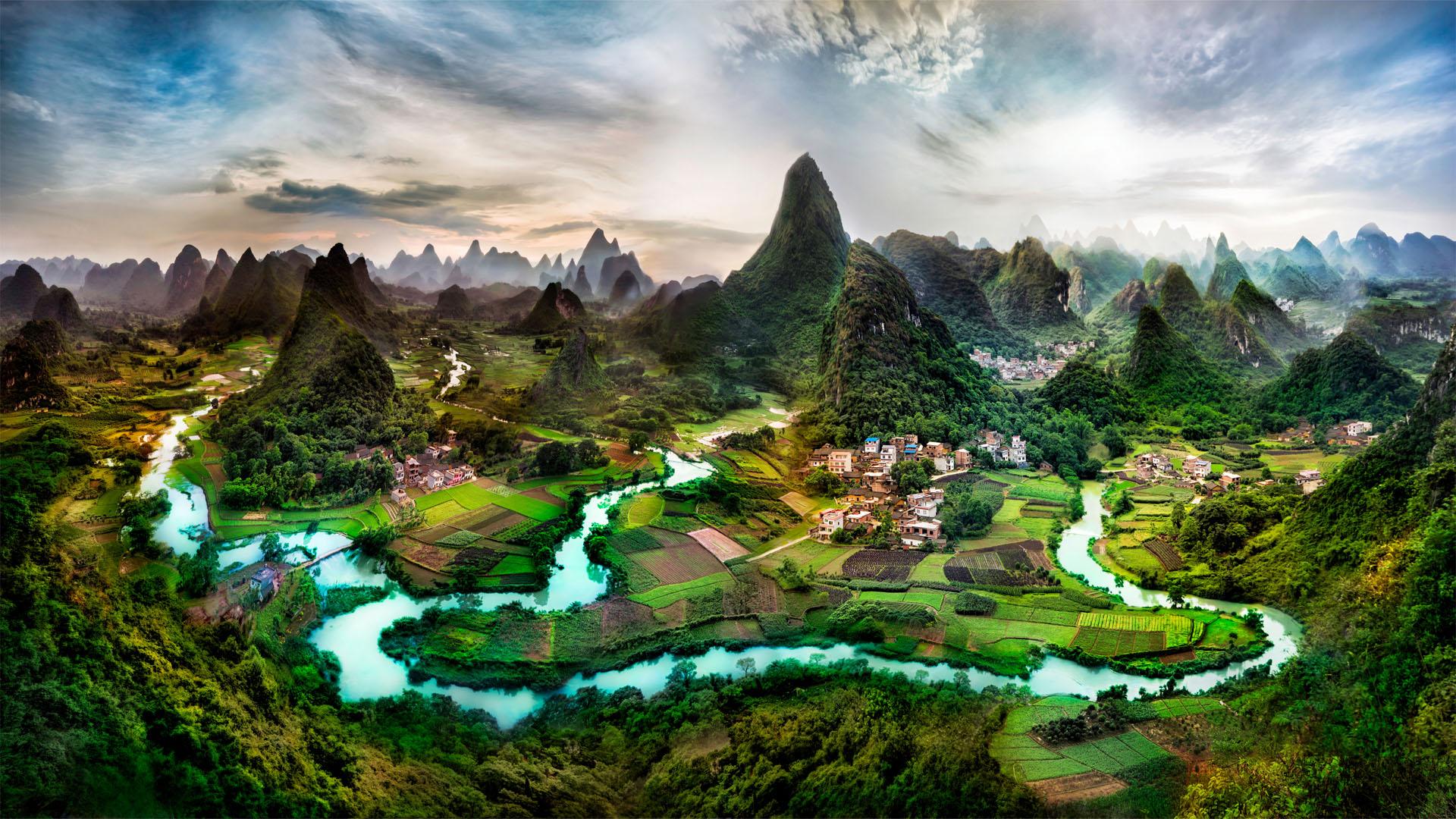 Beautiful Landscape Desktop Background Wallpaper 1920x1080