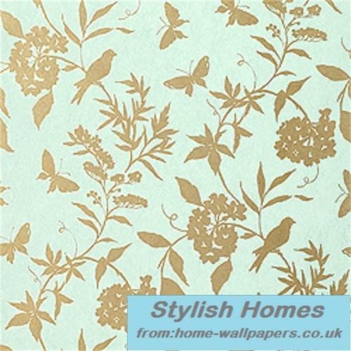 Thibaut Designer WallpaperGatehouseApril T4748 500x500