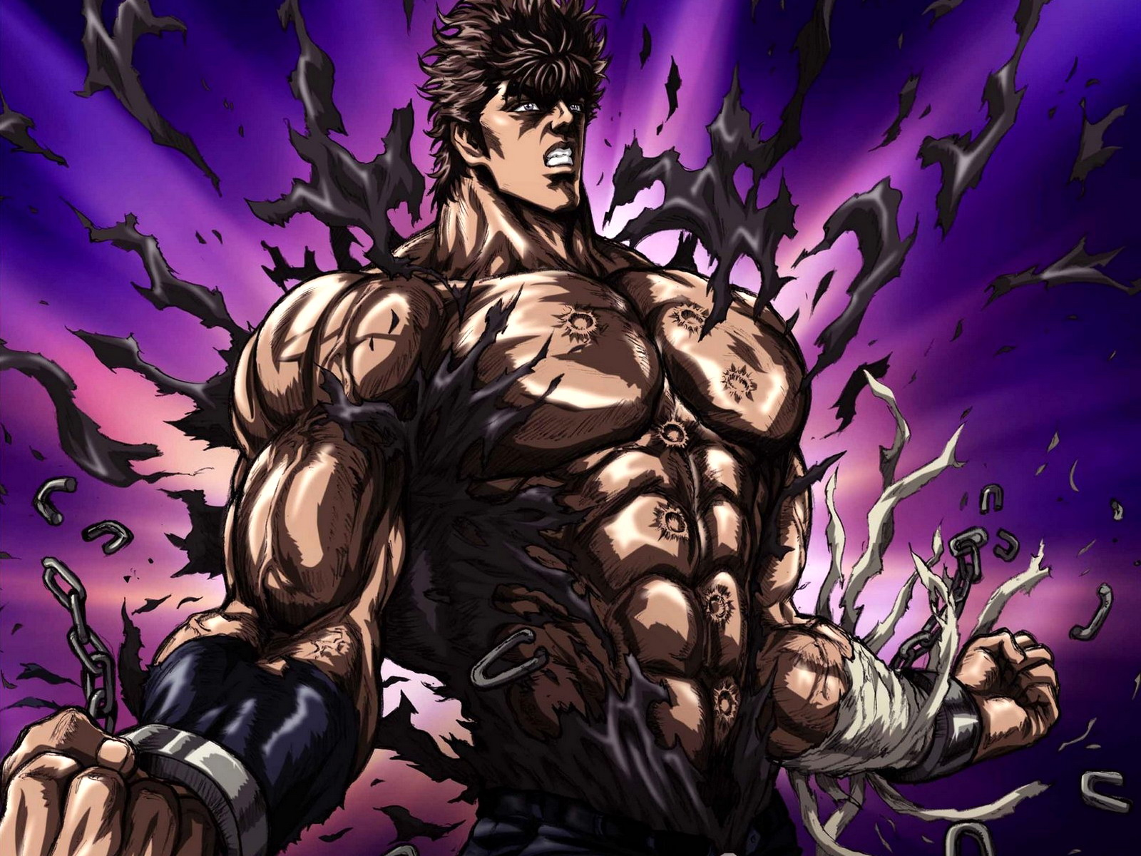 Japanese wallpapers Fist of the North Star   Hokuto no Ken wallpapers 1600x1200