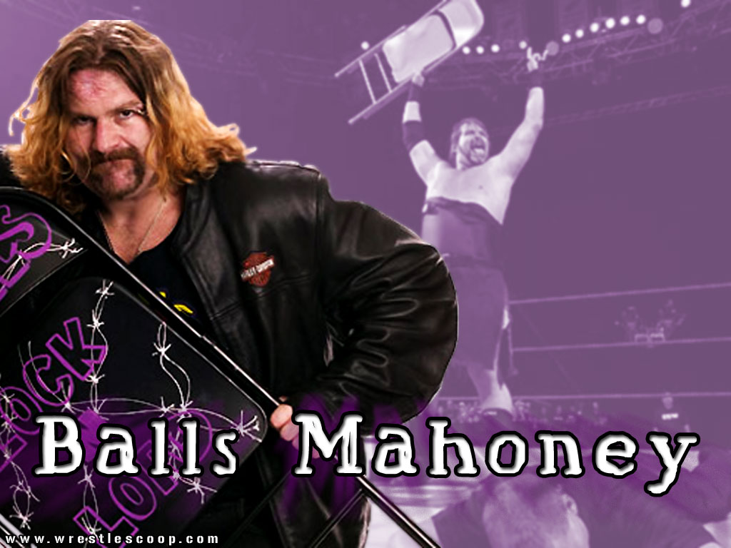 WRESTLESCOOPCOM BALLS MAHONEY WALLPAPER 1024x768