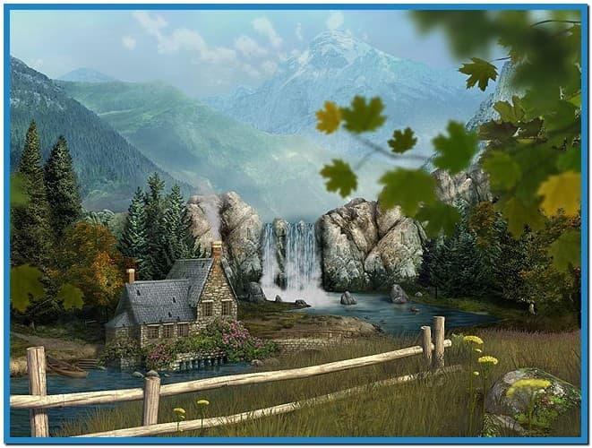 3d waterfall wallpaper download   weddingdressincom 661x500