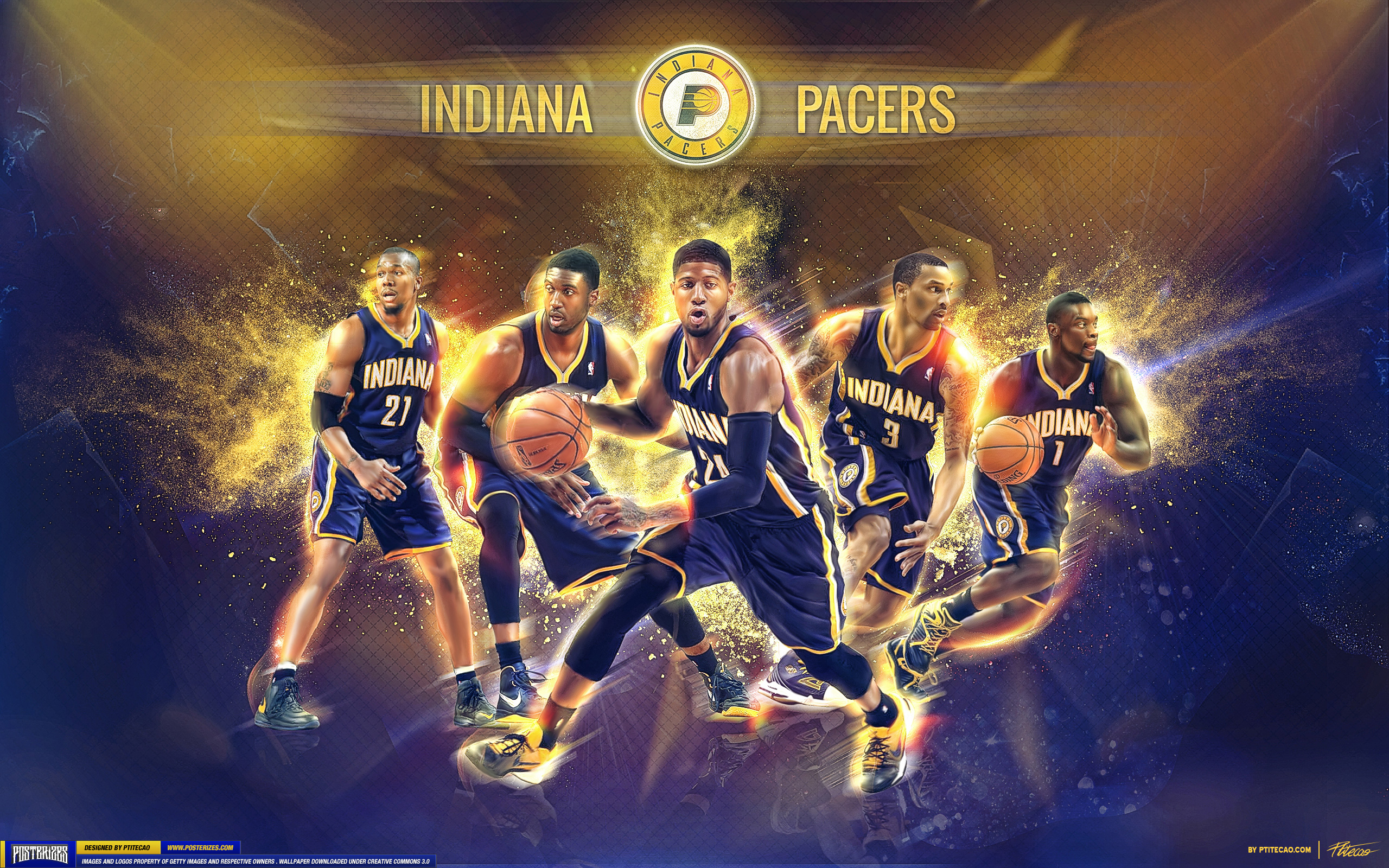 INDIANA PACERS nba basketball 9 wallpaper 2560x1600 227035 2560x1600