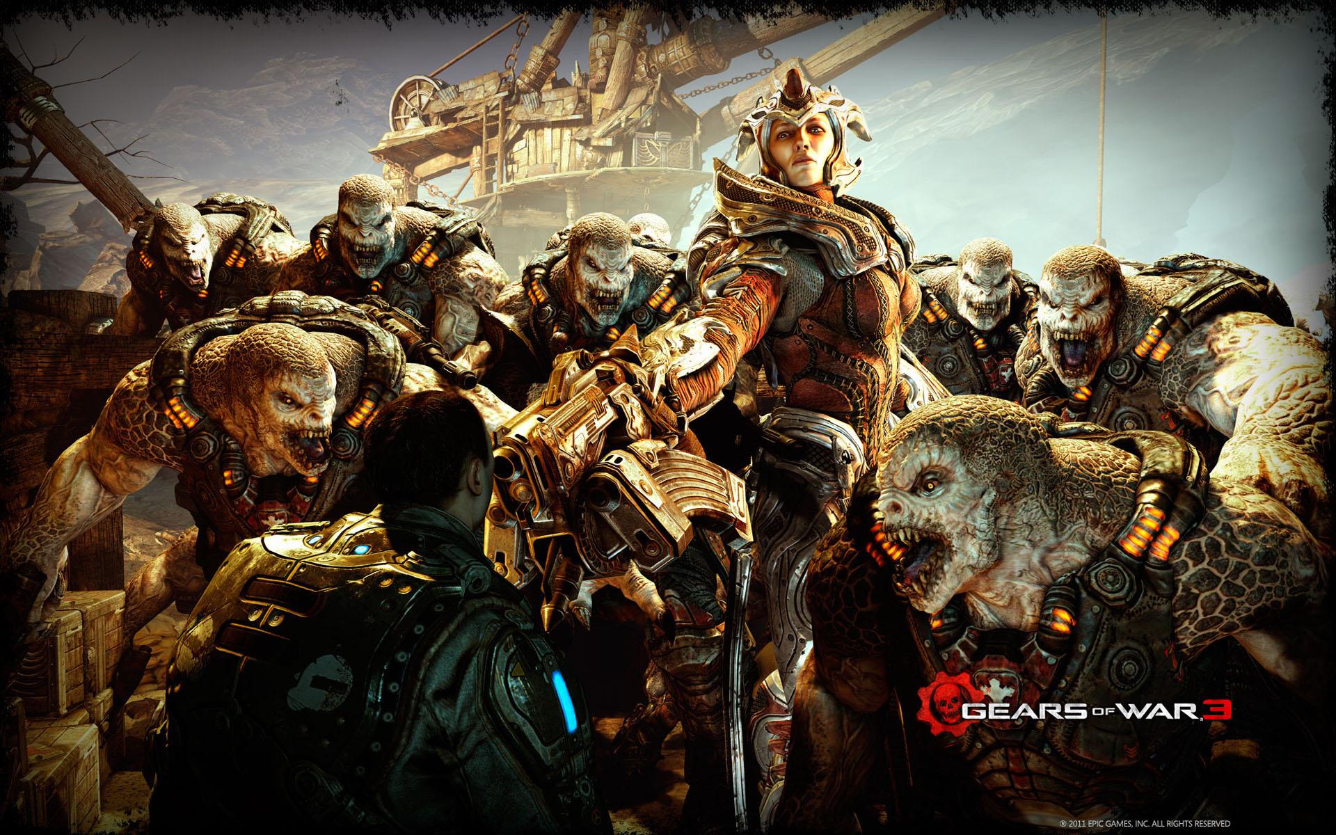 Gears Of War 3 2011 Wallpapers HD 1920x1200