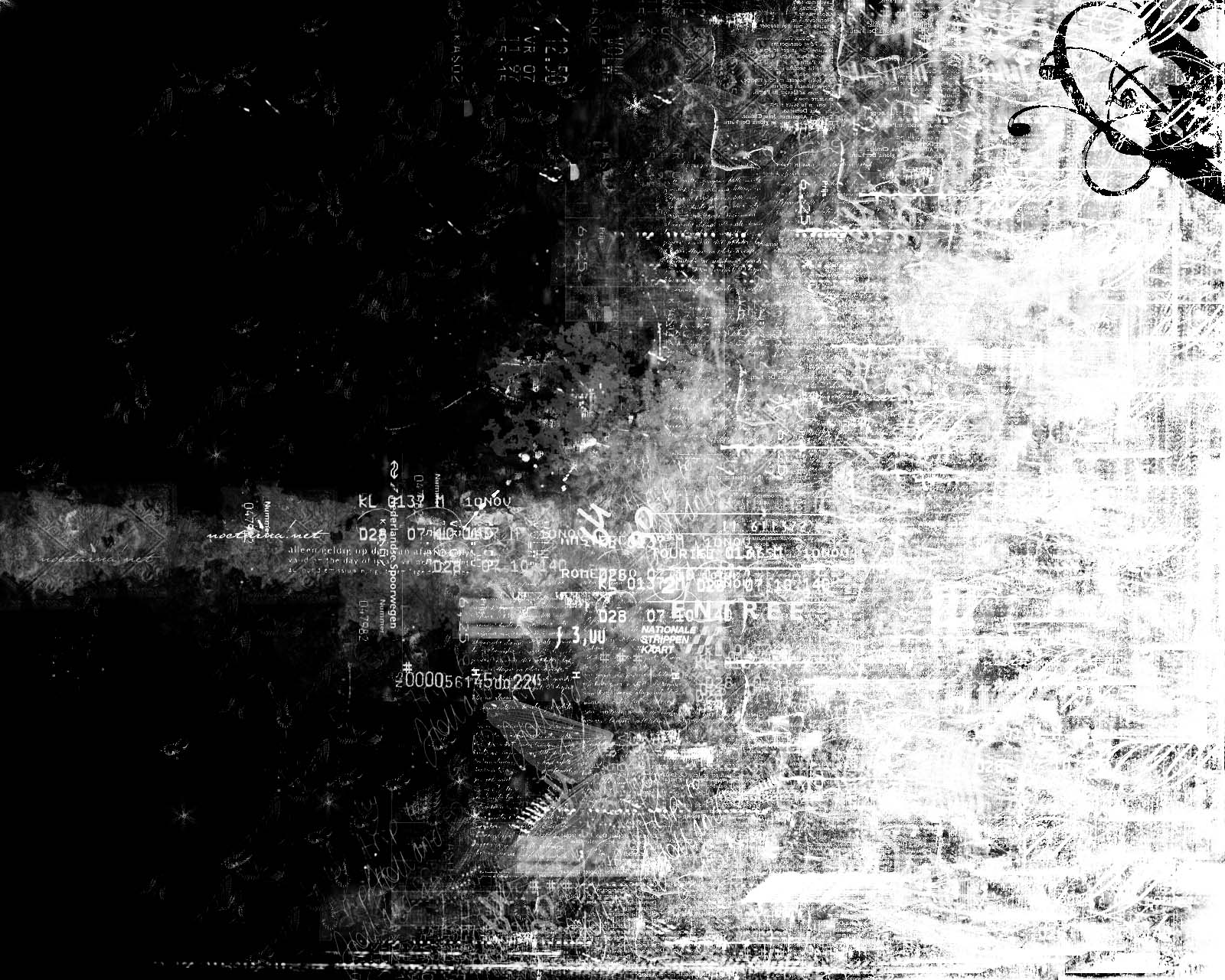 40 Beautiful Grunge Style Wallpapers for Your Desktop 1600x1280