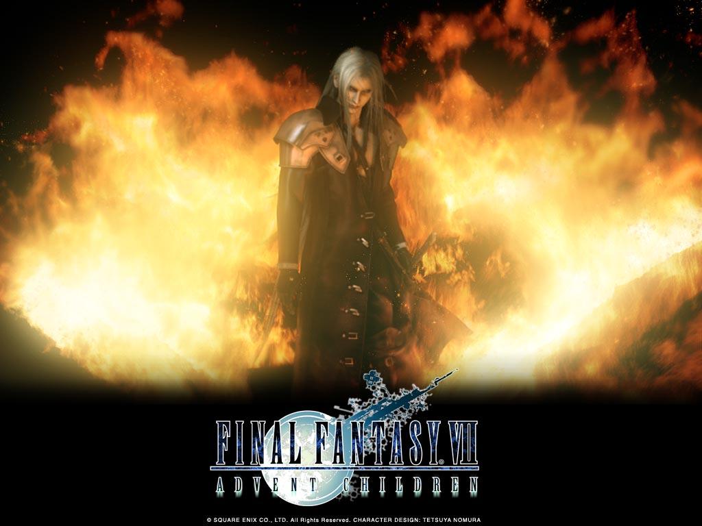 Final Fantasy VII Advent Children FF7AC   Wallpapers 1024x768