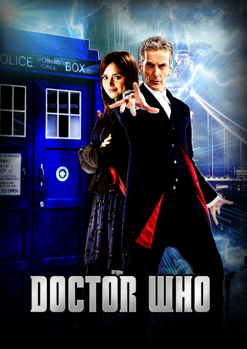 Doctor Who Series 8 Poster 2 by OAKANSHIELD 850x1200
