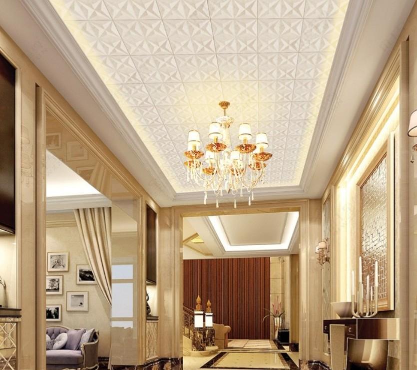 835x741px Ceiling Wallpaper Designs