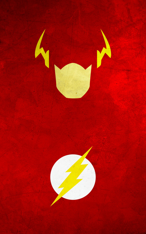 10 Minimalist Superhero iPhone wallpapers 500x800