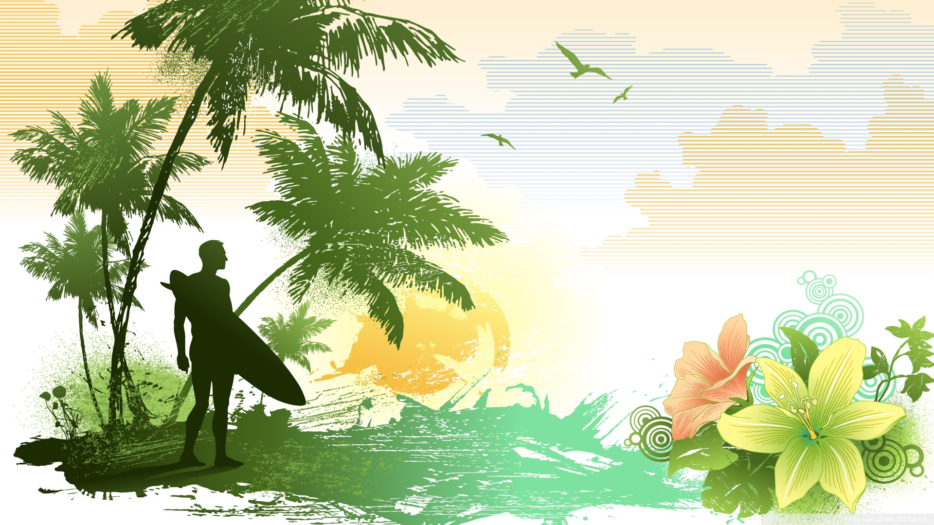 Surfing HD Wallpaper   Wallpaper High Definition High Quality 1920x1080