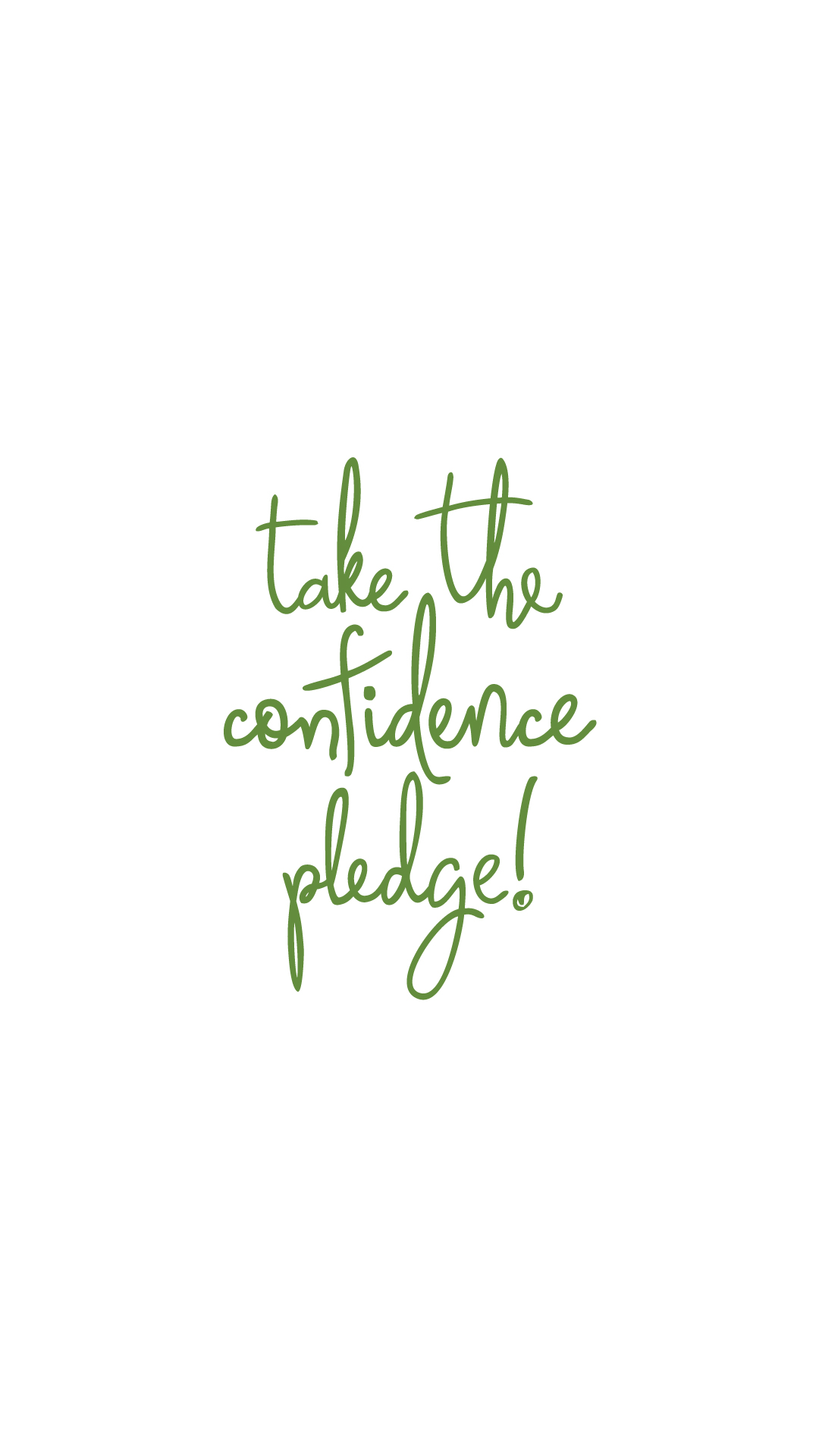 take the confidence pledge background white   Kappa Delta Kappa Delta 1080x1920