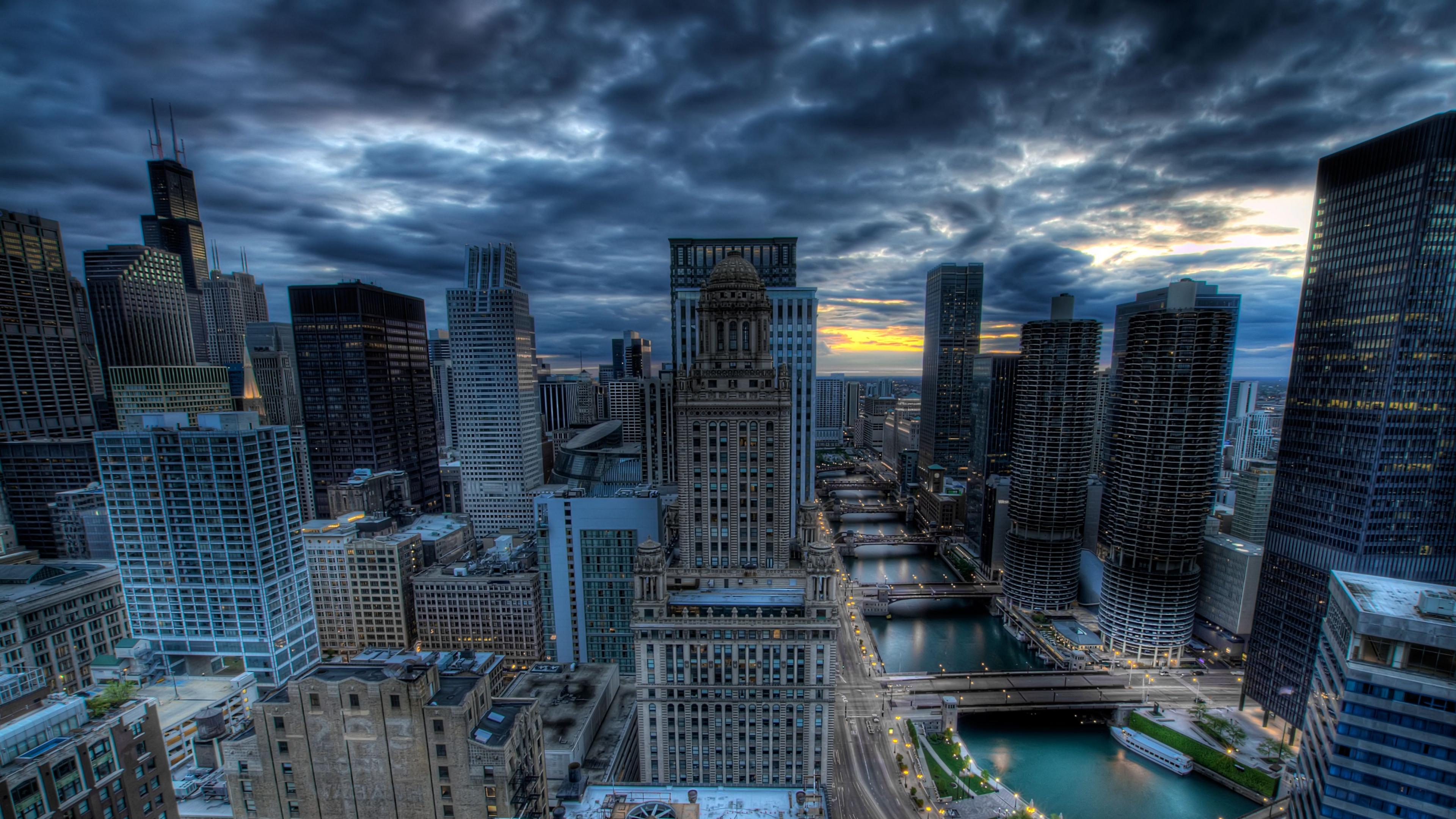 Chicago 4K Wallpaper