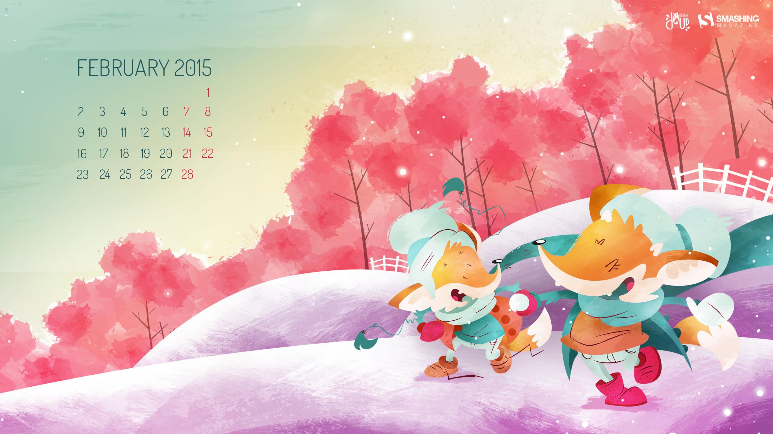 Desktop Wallpaper Calendars February 2015 Smashing Magazine 2560x1440