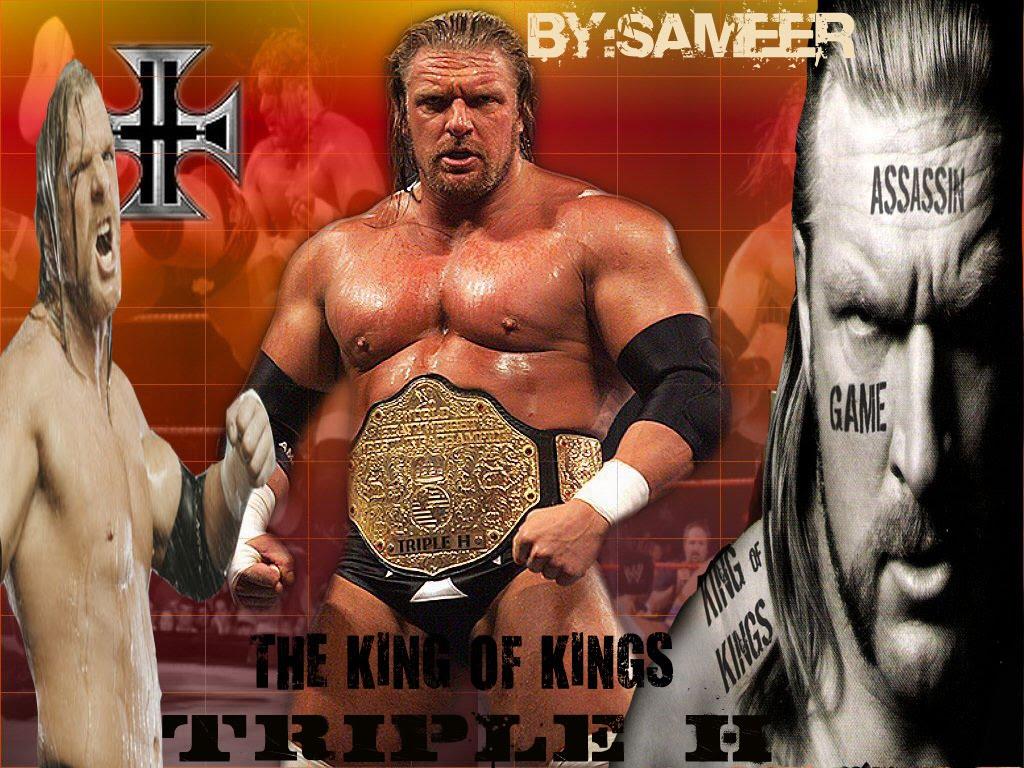 Triple H   The King Of Kings Wallpaper Unleashed WWEWWE Wallpapers 1024x768