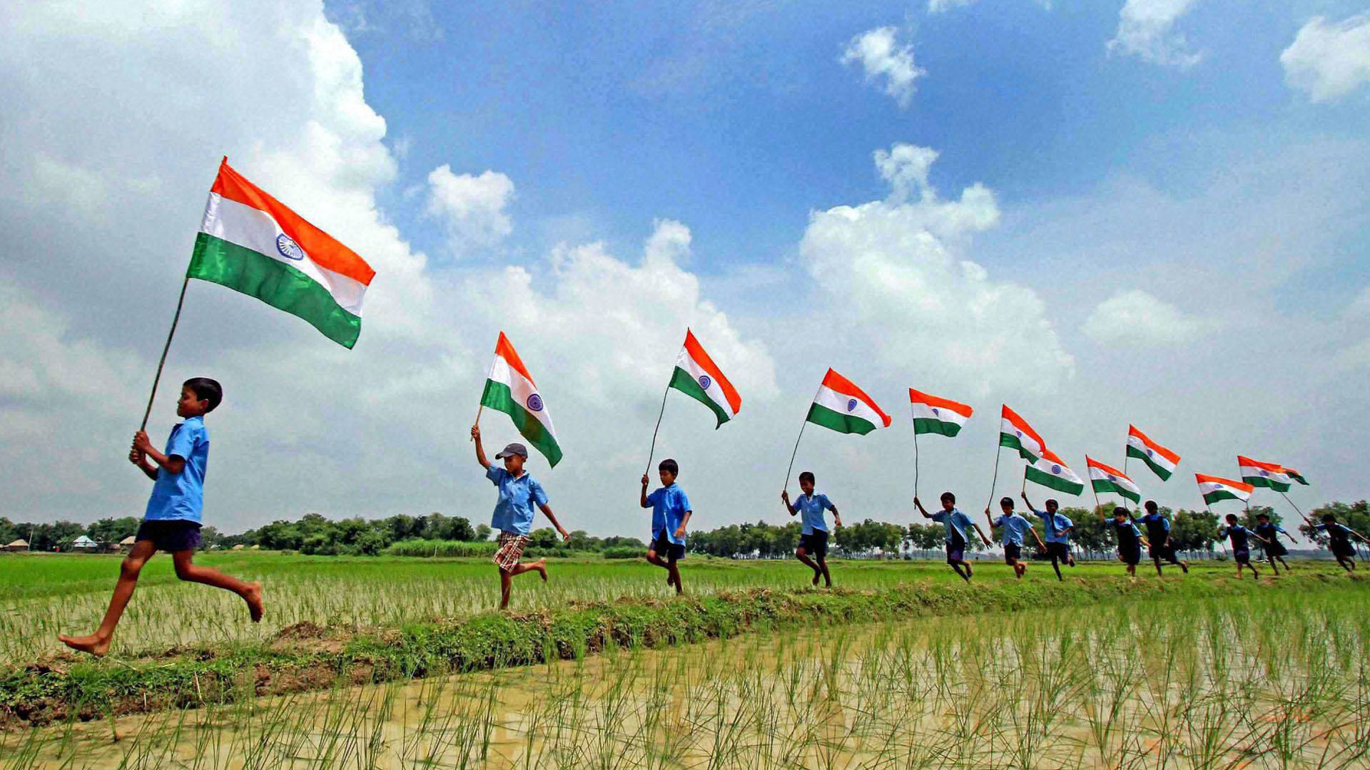 Indian Independence Day Wallpaper 1920x1080
