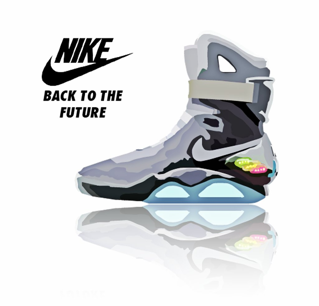 Nike Air Mag Back To The Future 2015 by dan hadez 1024x983 13743ab2f