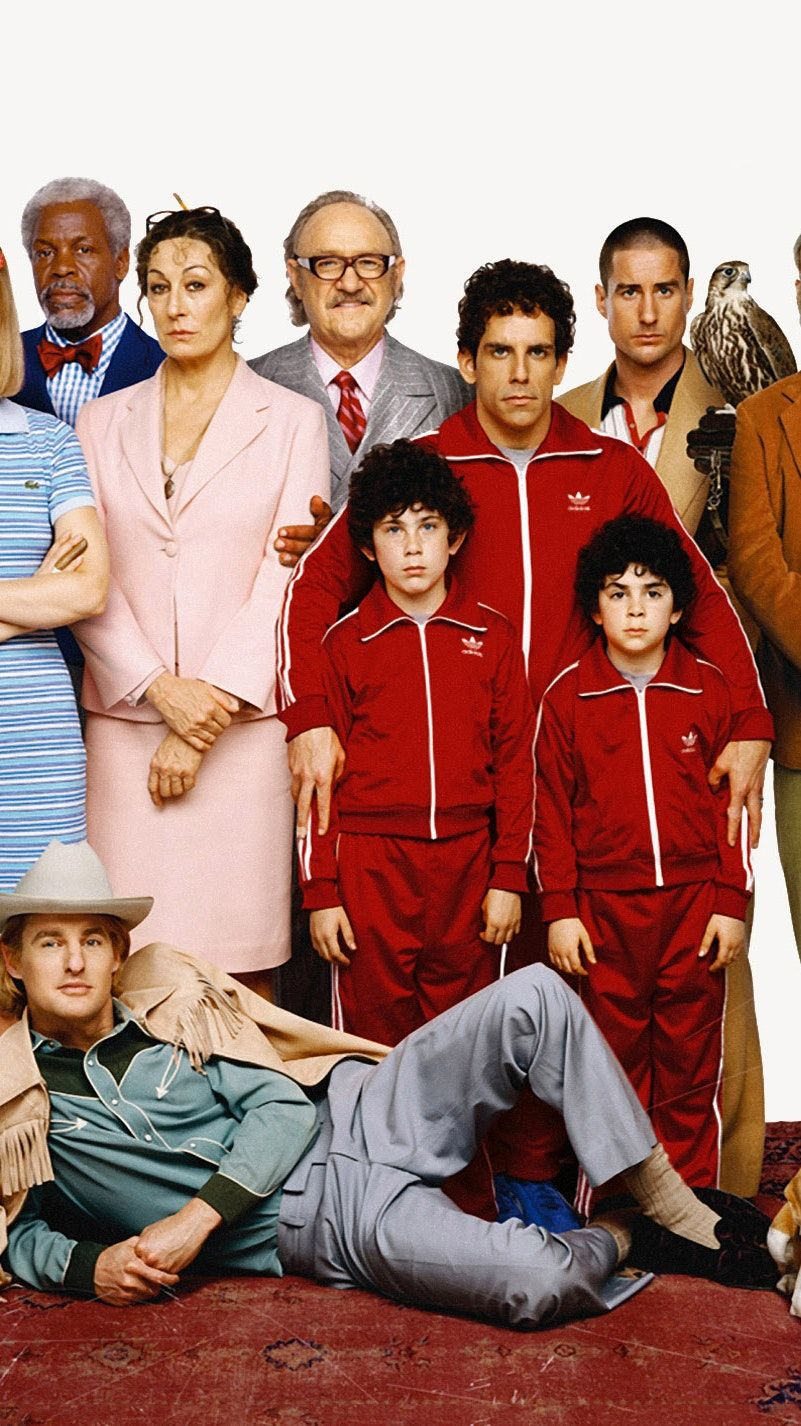 The Royal Tenenbaums 2001 Phone Wallpaper in 2019 Wes Anderson 801x1426