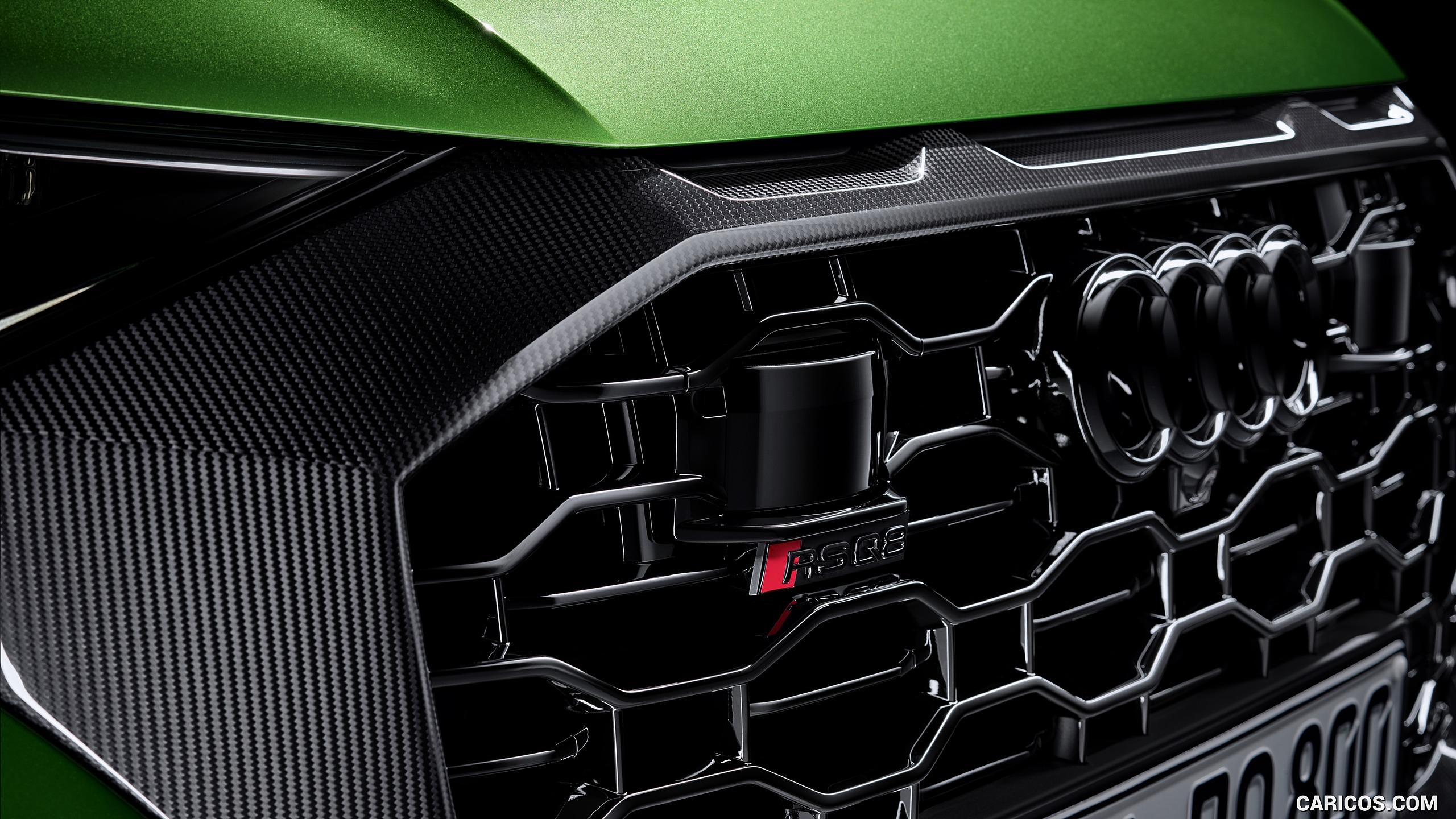 2020 Audi RS Q8   Grill HD Wallpaper 7 2560x1440