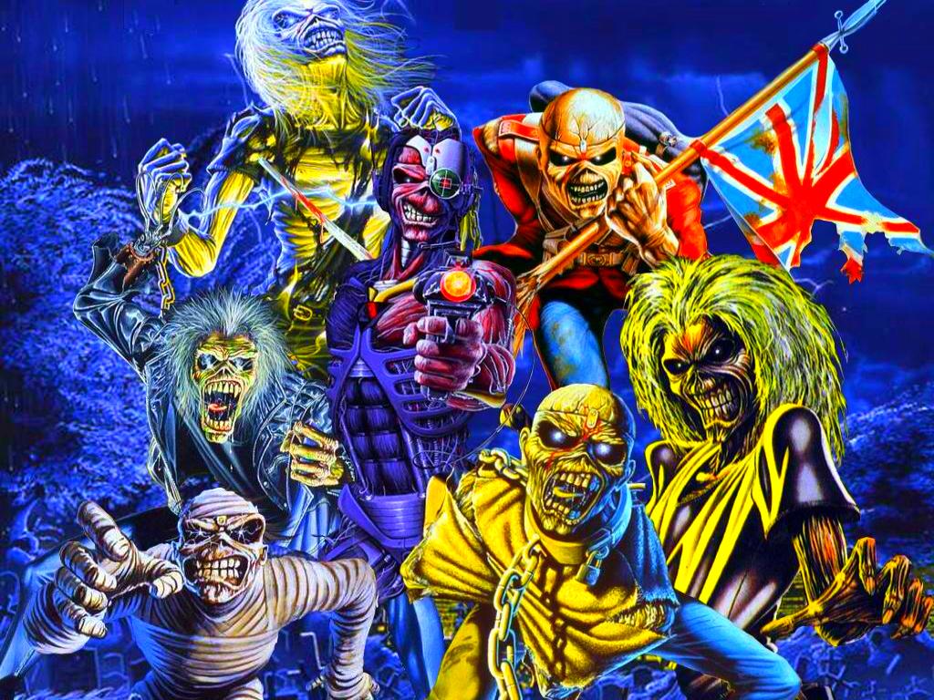 Iron Maiden Eddie Wallpaper - WallpaperSafari