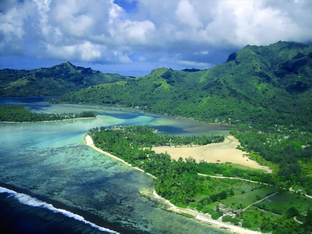 tropical wallpapers beautiful landscape island 1024x768