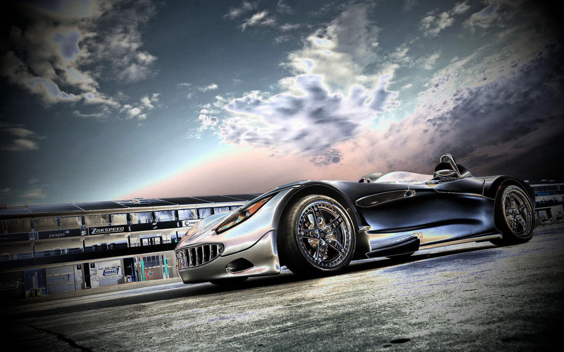 Thunderhill Race Car Wallpaper: Racing Car Pictures Wallpaper